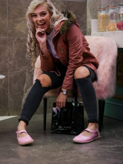 Woman's Dusty Pink Padded Jacket